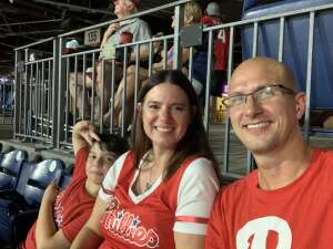 Jason attended Philadelphia Phillies vs. Arizona Diamondbacks - MLB on Aug 26th 2021 via VetTix