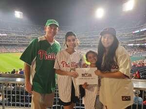Bill D. attended Philadelphia Phillies vs. Arizona Diamondbacks - MLB on Aug 26th 2021 via VetTix
