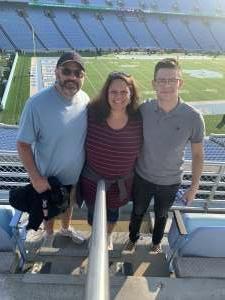 Stephen Eidsvaag attended North Carolina Tar Heels vs. Georgia State Panthers - NCAA Football ** First Responder Appreciation Night ** on Sep 11th 2021 via VetTix