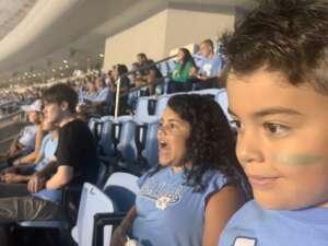 Danny Freitas attended North Carolina Tar Heels vs. Georgia State Panthers - NCAA Football ** First Responder Appreciation Night ** on Sep 11th 2021 via VetTix
