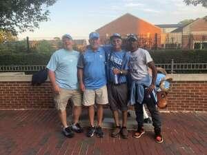 Ks attended North Carolina Tar Heels vs. Georgia State Panthers - NCAA Football ** First Responder Appreciation Night ** on Sep 11th 2021 via VetTix