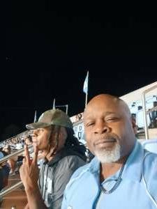 Lamando Parker attended North Carolina Tar Heels vs. Georgia State Panthers - NCAA Football ** First Responder Appreciation Night ** on Sep 11th 2021 via VetTix