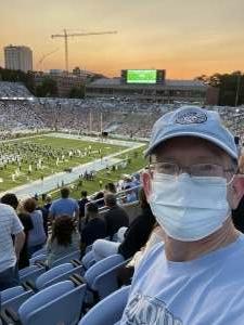 Carolina Fan attended North Carolina Tar Heels vs. Georgia State Panthers - NCAA Football ** First Responder Appreciation Night ** on Sep 11th 2021 via VetTix