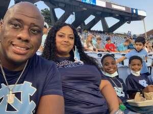 Dwayne Smith attended North Carolina Tar Heels vs. Georgia State Panthers - NCAA Football ** First Responder Appreciation Night ** on Sep 11th 2021 via VetTix