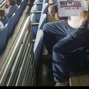 Lon Burchfield attended North Carolina Tar Heels vs. Georgia State Panthers - NCAA Football ** First Responder Appreciation Night ** on Sep 11th 2021 via VetTix