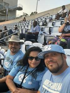 JrT attended North Carolina Tar Heels vs. Georgia State Panthers - NCAA Football ** First Responder Appreciation Night ** on Sep 11th 2021 via VetTix