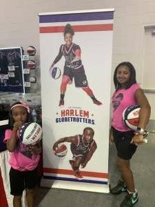 Janina attended Harlem Globetrotters on Aug 28th 2021 via VetTix
