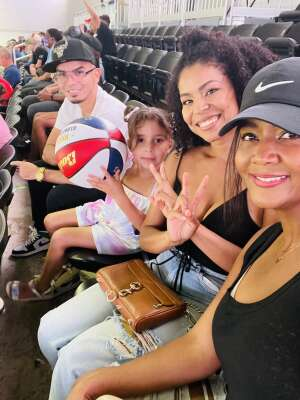 Miguel attended Harlem Globetrotters on Aug 28th 2021 via VetTix