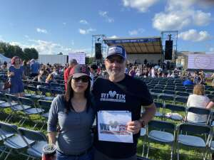 Vic attended Gin Blossoms and Vertical Horizon on Sep 18th 2021 via VetTix