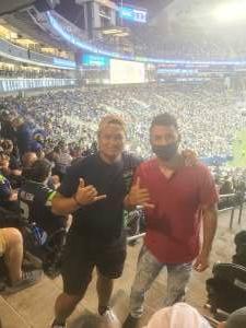 Edwin Estrada attended Seattle Seahawks vs. San Diego Chargers - NFL Preseason on Aug 28th 2021 via VetTix