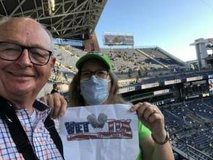 Seattle Jim attended Seattle Seahawks vs. San Diego Chargers - NFL Preseason on Aug 28th 2021 via VetTix