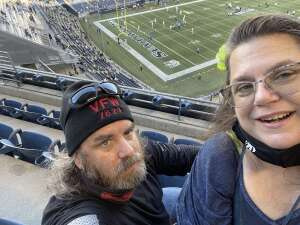 Warrior & Wife attended Seattle Seahawks vs. San Diego Chargers - NFL Preseason on Aug 28th 2021 via VetTix