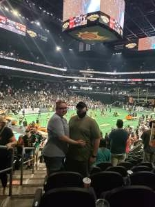 Jeff attended Arizona Rattlers vs. Tba - IFL Playoffs Round 1 on Aug 29th 2021 via VetTix