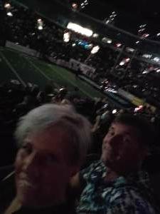 Greg attended Arizona Rattlers vs. Tba - IFL Playoffs Round 1 on Aug 29th 2021 via VetTix