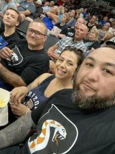 Gil O. attended Arizona Rattlers vs. Tba - IFL Playoffs Round 1 on Aug 29th 2021 via VetTix