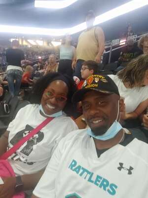 William Cook attended Arizona Rattlers vs. Tba - IFL Playoffs Round 1 on Aug 29th 2021 via VetTix