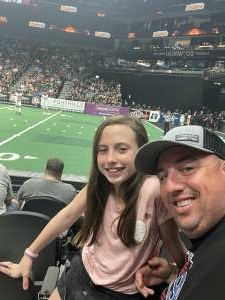Ryan attended Arizona Rattlers vs. Tba - IFL Playoffs Round 1 on Aug 29th 2021 via VetTix