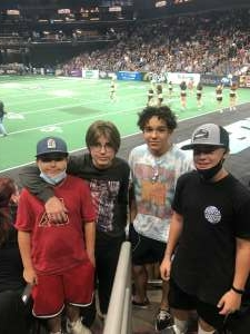 Ray attended Arizona Rattlers vs. Tba - IFL Playoffs Round 1 on Aug 29th 2021 via VetTix
