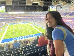 BYScan attended Detroit Lions vs. Indianapolis Colts - NFL Preseason on Aug 27th 2021 via VetTix