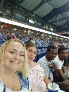 Shelly attended Detroit Lions vs. Indianapolis Colts - NFL Preseason on Aug 27th 2021 via VetTix