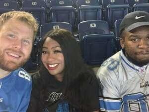Lil' attended Detroit Lions vs. Indianapolis Colts - NFL Preseason on Aug 27th 2021 via VetTix