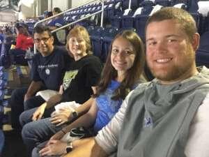 Catherine Mila attended Detroit Lions vs. Indianapolis Colts - NFL Preseason on Aug 27th 2021 via VetTix