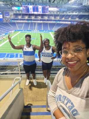 Jermaine Maull attended Detroit Lions vs. Indianapolis Colts - NFL Preseason on Aug 27th 2021 via VetTix