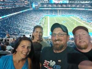 Bryan S attended Detroit Lions vs. Indianapolis Colts - NFL Preseason on Aug 27th 2021 via VetTix
