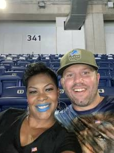 Nathan Cadwell attended Detroit Lions vs. Indianapolis Colts - NFL Preseason on Aug 27th 2021 via VetTix
