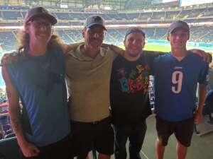 Randall attended Detroit Lions vs. Indianapolis Colts - NFL Preseason on Aug 27th 2021 via VetTix