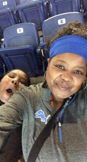 Tamara Robinson attended Detroit Lions vs. Indianapolis Colts - NFL Preseason on Aug 27th 2021 via VetTix