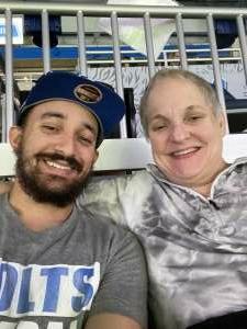 Suej  attended Detroit Lions vs. Indianapolis Colts - NFL Preseason on Aug 27th 2021 via VetTix
