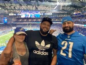 MM3 attended Detroit Lions vs. Indianapolis Colts - NFL Preseason on Aug 27th 2021 via VetTix