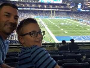 Bob attended Detroit Lions vs. Indianapolis Colts - NFL Preseason on Aug 27th 2021 via VetTix