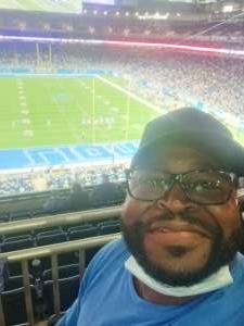 Coop  attended Detroit Lions vs. Indianapolis Colts - NFL Preseason on Aug 27th 2021 via VetTix