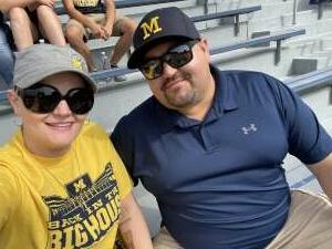 Chris Bartone attended University of Michigan Wolverines vs. Northern Illinois University - NCAA Football on Sep 18th 2021 via VetTix