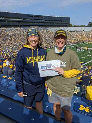 Click To Read More Feedback from University of Michigan Wolverines vs. Northern Illinois University - NCAA Football