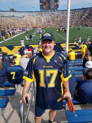 Joe attended University of Michigan Wolverines vs. Northern Illinois University - NCAA Football on Sep 18th 2021 via VetTix