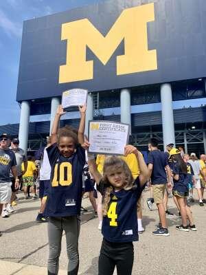 Brian Miles attended University of Michigan Wolverines vs. Northern Illinois University - NCAA Football on Sep 18th 2021 via VetTix