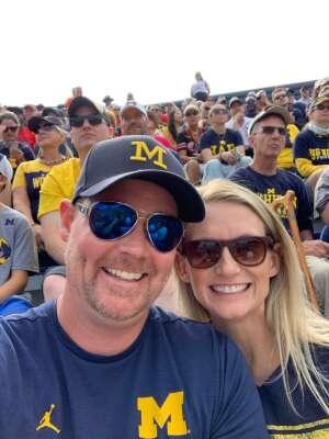 Debbie G. attended University of Michigan Wolverines vs. Northern Illinois University - NCAA Football on Sep 18th 2021 via VetTix