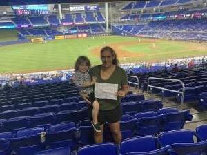 Click To Read More Feedback from Miami Marlins vs. Washington Nationals - MLB