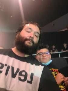 Eric Ruelas attended Future Stars of Wrestling Presents  FUTURE STARS OF WOMEN'S WRESTLING on Aug 22nd 2021 via VetTix