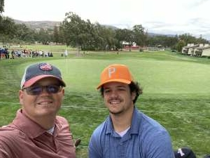 Will attended The Fortinet Championship: PGA Tournament Final Round! on Sep 19th 2021 via VetTix
