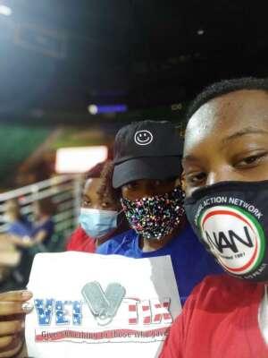 Neveryb attended Harlem Globetrotters on Aug 21st 2021 via VetTix