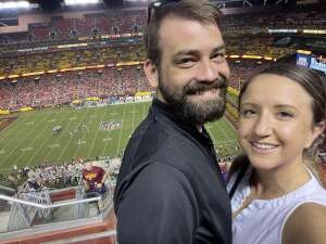 Lauren attended Washington Football Team vs. Baltimore Ravens - NFL on Aug 28th 2021 via VetTix