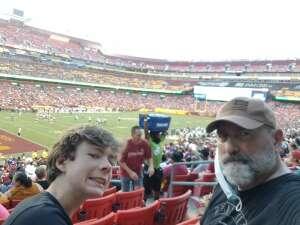 Clements  attended Washington Football Team vs. Baltimore Ravens - NFL on Aug 28th 2021 via VetTix