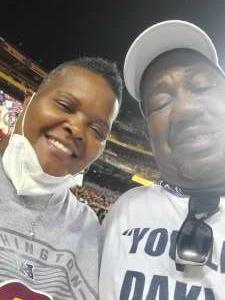 Forever Thankful attended Washington Football Team vs. Baltimore Ravens - NFL on Aug 28th 2021 via VetTix