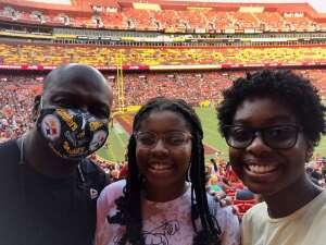 Dcherry attended Washington Football Team vs. Baltimore Ravens - NFL on Aug 28th 2021 via VetTix