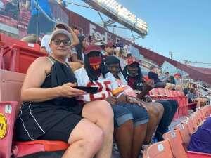 SGW attended Washington Football Team vs. Baltimore Ravens - NFL on Aug 28th 2021 via VetTix