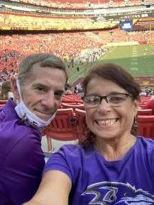 The Shorts attended Washington Football Team vs. Baltimore Ravens - NFL on Aug 28th 2021 via VetTix